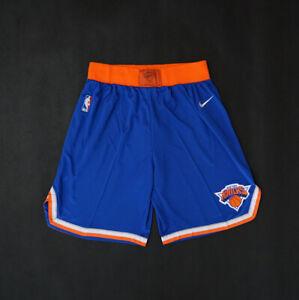 HOT New York Knicks Blue Basketball Shorts Size: S-XXL