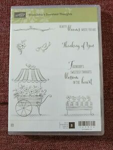 Stampin Up Friendship's Sweetest Thoughts   S
