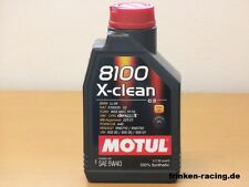 MOTUL 8100 X-clean 5w-40 c3, a3/b3 1 Ltr Completamente Sintetico Dl MOTORE