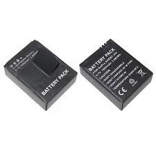 2 x GoPro Hero 3 Eroe 3 3+ 3.7v 1050mah sostituzione batteria al litio batterie