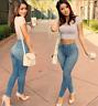 Women Lady Denim  High Waist Stretch Jeans Slim Pencil Trousers Skinny Pants