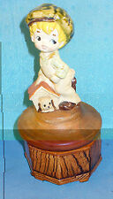 """Vintage American Greetings  Music Box """"You Can't Be Poor If You Have A Friend"""""""