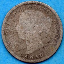 Canada 1894 10 Cents Ten Cent Silver Coin - Filler