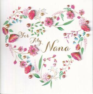 PAPYRUS MOTHERS DAY CARD NIP (MSRP $7.95) NANA CARD (P22)