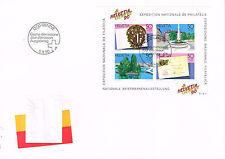 Schweiz Helvetia PTT Block ETB Nationale Briefmarkenausstellung 1990 Genf 3 Fr