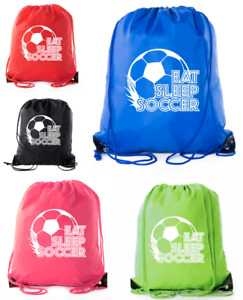 Soccer Party Favors Soccer Drawstring Backpack for Birthday Parties, Team events
