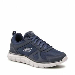 Skechers Track Scloric Blu Scarpe Uomo Sportive Running Palestra 52631 NVY