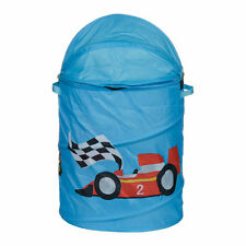 Laundry Hamper Racing Car Design Keep Kids Room Organised And Tidy Easy Handle
