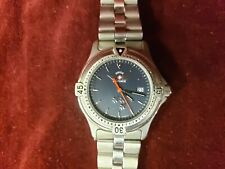 Swiss Air Force Stainless Steel Mens Watch Water Resistant 500ft 3 Planes