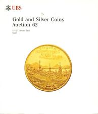 UBS AUCTION 62 AUKTIONSKATALOG 2005 GOLD AND SILVER COINS