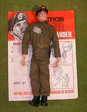 ORIGINAL VINTAGE ACTION MAN LOOSE COMMANDER PAINTED HEAD 135