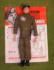 ORIGINALE VINTAGE ACTION MAN Loose Comandante Dipinto HEAD 135