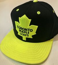 NEW Reebok Toronto Maple Leafs Limited Edition Neon Yellow NHL Hat