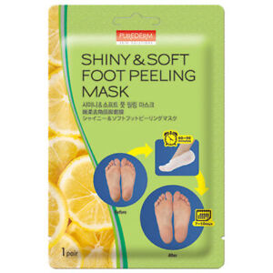 [PUREDERM] Shiny & Soft Foot Peeling Pack  (1/3/5/10 Pairs) - 17g