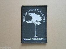 Northern Ireland Scout Centre Woven Cloth Patch Badge Boy Scouts Scouting