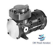 New Thomas 405aa38 115v Compressor Vacuum Pump Je Adams Vac Air Horns Air Brakes