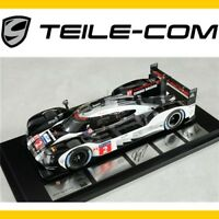 ORIG. PORSCHE 919 Hybrid Resine /Le Mans Sieger 2016 weiß/schwarz Maßstab 1:18