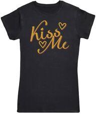 Kiss Me - Womens T-Shirt