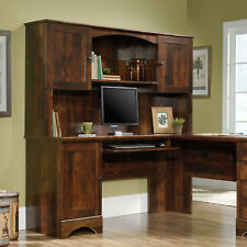 Desk Hutch Secretary Office Bookcase Storage Cabinet Computer Executive Funiture