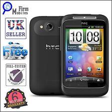 HTC Wildfire S - Black (Unlocked) Smartphone (99HMM051-00) Grade A