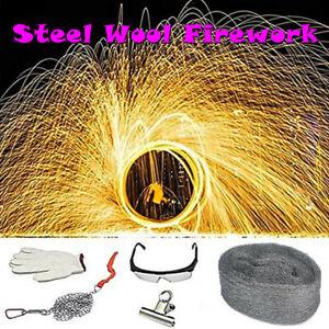 2021 Steel Wool Simulation Firework Flame Magic Fire Magical Tricks Photography