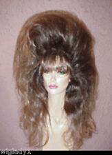 **EMPRESS BIANCA BIG HAIR WIGS DRAG QUEEN LONG BROWN