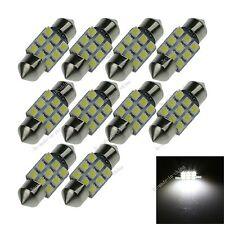 100X White 31MM 9 3528 Festoon Dome Interior LED Light Lamp Bulb DE3425 I024