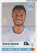 N°204 NICOLAS N'KOULOU # CAMEROON MARSEILLE STICKER FOOT 2014 PANINI