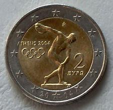 """2 Euro Griechenland 2004 """"Olympische Sommerspiele Athen"""" unz."""