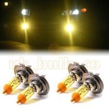 Amarillo Xenon Baja + High Beam Bulbos Para Opel Corsa Modelos h7h7