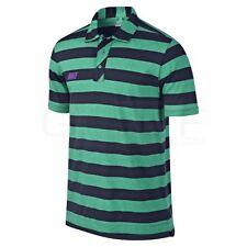 New NIKE Golf DRI FIT SPORT VINTAGE Mens (Size- XL) Classic STRIPE POLO SHIRT