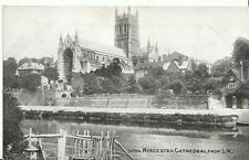 Worcestershire Postcard - Worcester Cathedral from S.W.   2056
