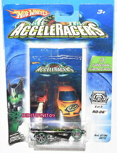 HOT WHEELS 2005 ACCELERACERS RD-06 6 OF 9 W+