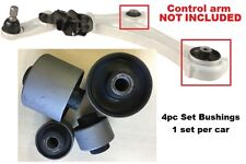 4pcSet Bushings fit Front Lower ARM 2007 08 09 10 11 2012 2013 Nissan Altima