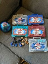Lot Of 110 Bakugan Battle Brawlers Toys with Cases & Cards From 2008 - SEGA
