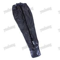 Soft PU Leather mummy sack sleeping bag restraints Full Body bondage Black