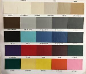 "Seascape marine vinyl upholstery fabric UV RESISTANCE heavy duty auto 54"" Wide"