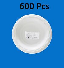 600pc H-quality Extra Strong Disposable White Plastic Bowls Microwave Safe 12oz