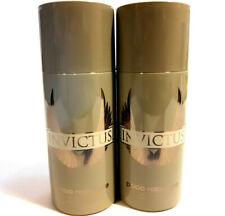 2x Paco Rabanne Invictus Mens Deodorant Luxury Body Spray for Men, 150ml
