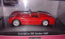 Cisitalia 202 Spyder  1947 Starline  1:43 MINTB