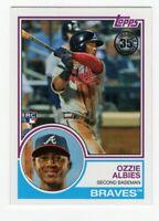 2018 Topps 35th Anniversary Rookie - Ozzie Albies Card #83-16 (Atlanta Braves)