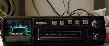 Pioneer Qp 400 Stereo Quadraphonic Car Fm Radio 8 Track Player Tested Rare
