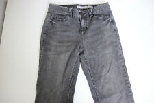 DKNY Womens Boot Cut Jeans Black Denim Size 4 mid rise Pants a1716
