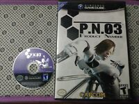 P.N.03 Product Number 3 (Nintendo GameCube, 2003) Tested