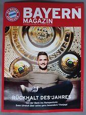 Bayern Magazin FC Bayern - TSG 1899 Hoffenheim. Saison 2017 / 2018, neu.