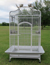 """Large 28""""x22""""x63&#034 ;H Open Play Dome Top Bird Parrot Cockatiel Macaw Cockatoo Cage"""