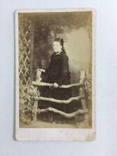 Victorian Carte De Visite CDV: Lady: Chapman: Dawlish: Name Miss SMITH Mourning?