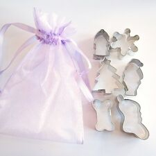 Christmas Stocking Doggie Mini Six Piece Value Cookie Cutter Set - FREE SHIPPING