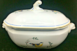 Copeland Queen's Bird Spode Soup Tureen with Lid Y4973 4 Quarts England English