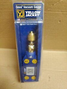 """Yellow Jacket 69020 Omni Digital Vacuum Gauge with 1/4"""" Coupler"""